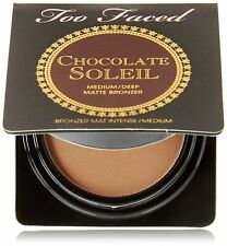 Too Faced Authentic Chocolate Soleil Matte Bronzer -  2.5g / 0.08 oz Travel Size
