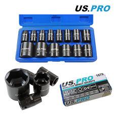 US Pro by Bergen Tools 14pc 1/2'' DR Metric Shallow Impact Socket Set