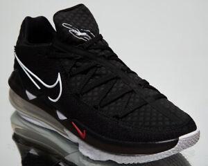 Nike LeBron XVII Low Men's Black White Multi-Color Basketball Sneakers Shoes