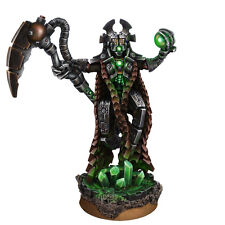 28mm Necrocyborg Lord Crypt-Keeper with Scythe & Orb Comp w/ 40K Necrons Necron