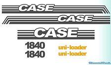plus kit Case 1840 NS with warning decal kit