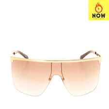 RRP €350 GIVENCHY Shield Sunglasses Gradient Lenses Partly Rimless Made in Italy