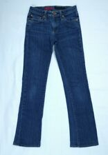 AG ADRIANO GOLDSCHMIED Womens The Angel Boot Cut Blue Low Rise Jeans Sz 26