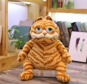 Cute Big Eye Yellow Fat Cat Garfield Plush Toy Soft Stuffed Animal Birthday Gift