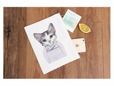 Cute CAT Kitten Lovers Girl Tablet Notebook Laptop Case eReader Zip Pouch Bag