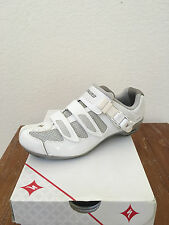 SPECIALIZED TORCH CYCLING ROAD SHOE WHITE/SLIVER 2014 WOMEN'S