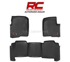 2004-2008 Ford F-150 Crew Cab Rough Country Fitted Floor Mats - SET [M-50412]