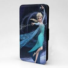 For Apple iPod Touch Flip Case Cover Frozen Let It Go - G1405