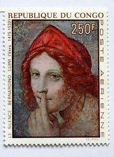 Congo tableau Le Silence par Bernardino Luini  1970   NEUF ** PA 92 88M589