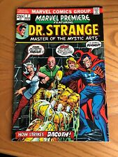 MARVEL PREMIERE #7. 1973. FEATURING DOCTOR STRANGE. CENTS COPY