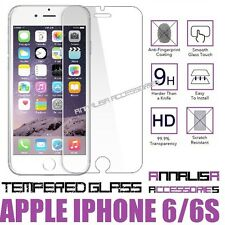 "PELLICOLA VETRO TEMPERATO APPLE IPHONE 6 6s 4,7"" TEMPERED GLASS SCHERMO DISPLAY"