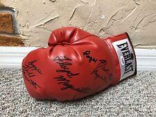 Floyd mayweather signed boxing Glove firmado tmt Money Team psa/ADN coa loa rar
