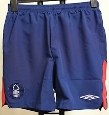 NOTTINGHAM FOREST BOYS 09/10 AWAY SHORTS BY UMBRO SIZE LARGE BOYS BRAND NEW