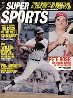 1971 Super Sports Magazine,Baseball,Willie Mays,San Francisco Giants,Pete Rose V