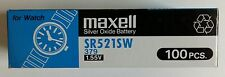 5pcs New Maxell SR521SW (379) Battery -(Free Shipping Worldwide) EXP.Date: 2020