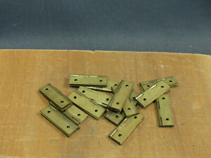 Lot 14 Antique Hinges Cupboard Furniture Brass Antique Hardware Store