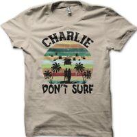 Apocalypse Now Charlie Don't Surf cotton t-shirt 9033