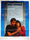 Affiche 120x160cm LE RAYON VERT (1983) Eric Rohmer - Marie Rivière TBE