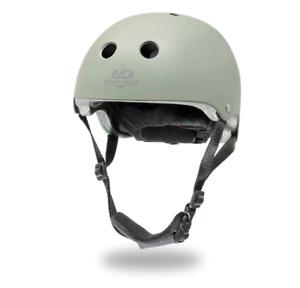 Kinderfeets - Toddler Bike Helmet - Matte Silver Sage