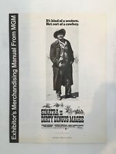 """DIRTY DINGUS MAGEE Pressbook 1970 8Pages 12"""" x 16"""" Movie Poster Art 146"""