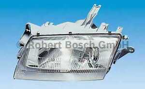 NEW Front Mazda 323 headlight unit o/s/f BOSCH 0301150704