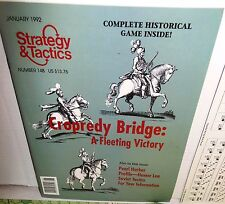 BOARD GAME + Magazine S&T # 148 English Civil War Cropredy Bridge op 1992 UNp