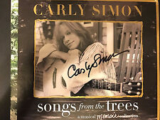 SIGNED BY CARLY SIMON Songs From The Trees (a Musical Memoir Collection) (2 CDs)