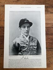 More details for  1895 print from racing illustrated -  frederick archer ( jockey ) & crafton