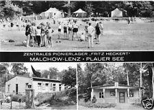 """AK, Malchow OT Lenz, Zentrales Pionierlager """"Fritz Heckert"""", 1973"""