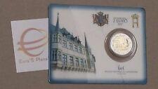 Coin card 2 euro 2017 Lussemburgo Luxembourg Luxemburg Luxemburgo serv militare