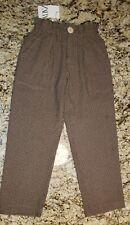 Nwt Zara Kids Dress Pants With Pockets 13 14 Soft Fabric Elastic Waist