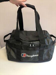 Berghaus 40L Black Keep Dry Holdall Bag - Weekend Travel Hand Luggage