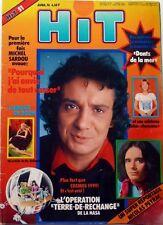 MICHEL SARDOU: coupure de presse 2 pages 1976