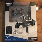 Sharper Image Micro Drone rechargeable 2.4 GHz
