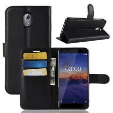 Handy Tasche Nokia 3.1 Klapptasche Flip Cover Case Schutz Hülle Schale Etui Neu