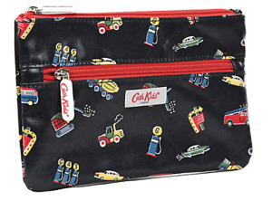 NEW Cath Kidston GARAGE STATION Pencil Case *With Tags/Double Zip*