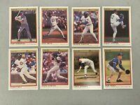 1991 O-Pee-Chee Premier Baseball Chicago Cubs 8-card Team Set Ryne Sandberg NEW