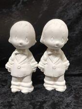 Ceramic Bisque Moments Groom & Groom