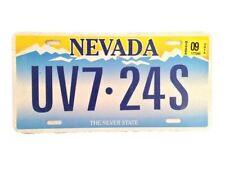 Sleepless Novak (Scoot McNairy) Movie Prop Aluminum Nevada License Plate