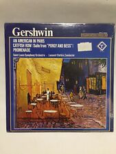 Slatkin Gershwin American in Paris / Catfish Row Turnabout Vox 34594 Quadra LP
