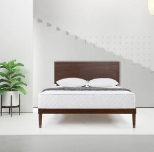Mattress 8 Inch Luxury Adult Bedroom Coil Foam Spring Back Pain Relief Bed