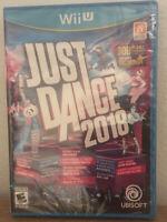 Just Dance 2018 - (Nintendo Wii U, 2017) Factory Sealed