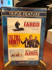 Fargo / The Full Monty / Raising Arizona (Dvd, 2009) Triple Feature,Mfg Sealed