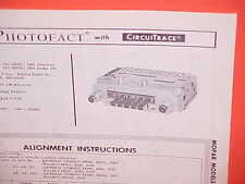 1963 CHRYSLER 300-J NEWPORT NEW YORKER DODGE 880 AM RADIO SERVICE SHOP MANUAL 63