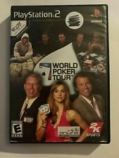 WORLD POKER TOUR - PS2 - COMPLETE W/ MANUAL - FREE S/H - (T3)