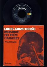Louis Armstrong-Benbennuto-I will wait for you - 7 Inch Vinyl-France