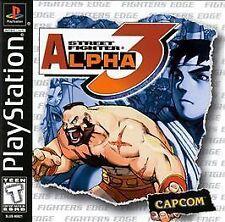 Street Fighter Alpha 3 (Sony PlayStation 1, 1999)