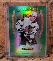 2019-20 Upper Deck Stature Esteemed Green /99 Patrick Kane
