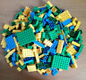 Genuine Lego 500g Mixed Yellow Green Blue Bricks Plates Parts Joblot Bundle