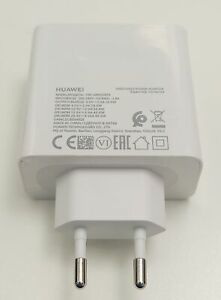 Original Huawei USB-C Adapter 65W HW-200325EP0 Fast Charge Ladegerät  weiss